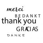 Bedankt, Merci, Thank You